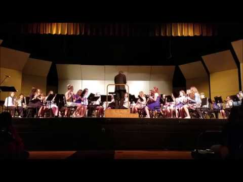 Slinger High School Symphonic Band and Wind Ensemble Spring Concert 2017