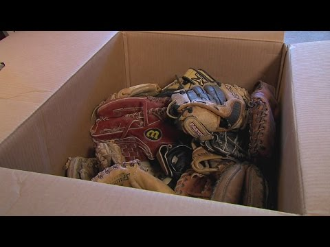 Parma man repairs old baseball gloves for troops serving overseas
