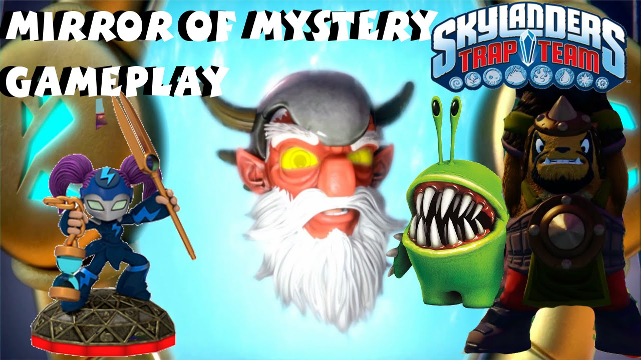 Skylanders Trap Team Mirror Of Mystery Adventure Pack