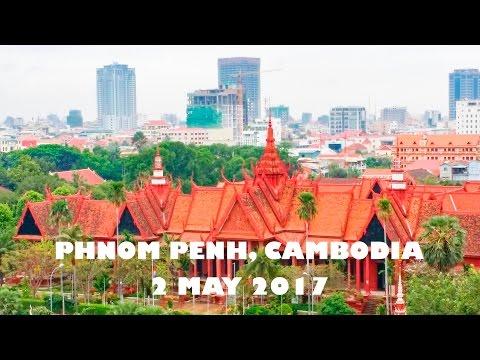 Phnom Penh City, The capital of Cambodia 2-5-2017