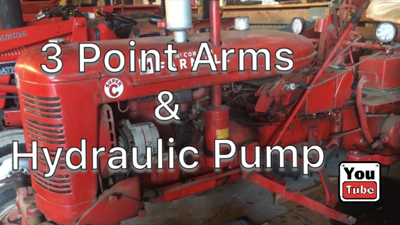 Farmall Super C Hydraulic Leaks