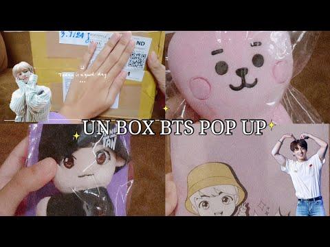 UNBOXING  BTS POP UP  IN BANGKOK💜✨