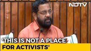 -protection-activists-making-sabarimala-pilgrimage-warns-kerala