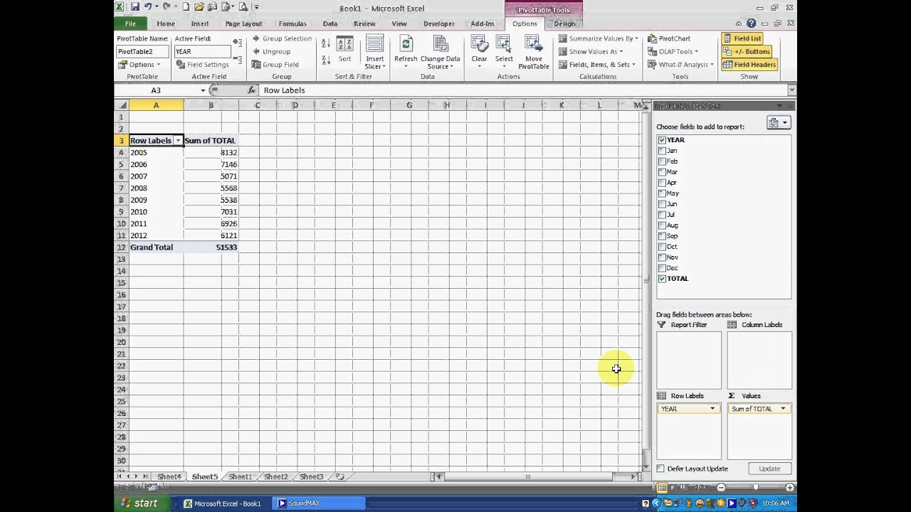 how to use counta in excel