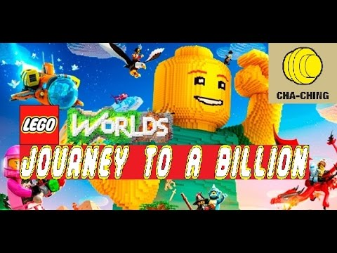 Lego Worlds My Journey To A Billion Studs In Less Than 2 hours 30 minutes Xbox One Billionaire