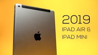 2019 iPad Mini & iPad Air - Early Look!