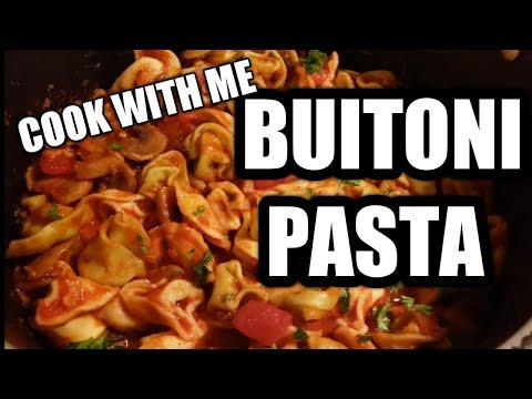 HOW TO COOK #BuitoniPasta WITH ROASTED GARLIC SAUCE AND MUSHROOMS #ItalianFood