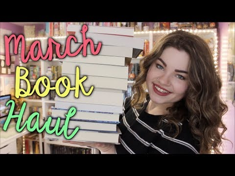 MARCH BOOK HAUL (ft. A GIVEAWAY [CLOSED])