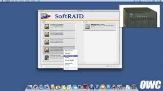 Managing a RAID in an OWC ThunderBay 4 Using SoftRAID 5