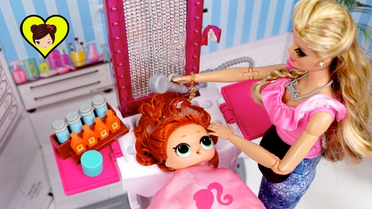 Nuevo Peluqueria De E Para Bebe Barbie Peinado En – Lol Surprise Pkwn80O