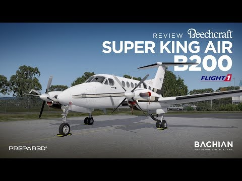 Prepar3D - Review Flight1 Super King Air B200 G1000