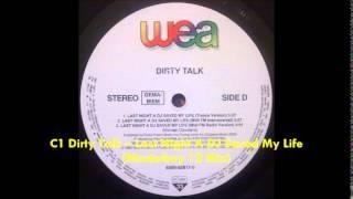 C1 Dirty Talk – Last Night A DJ Saved My Life Masterboy 12 Mix by tony700