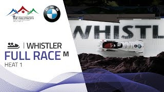 Whistler | BMW IBSF World Championships 2019 - 2-Man Bobsleigh Heat 1 | IBSF Official