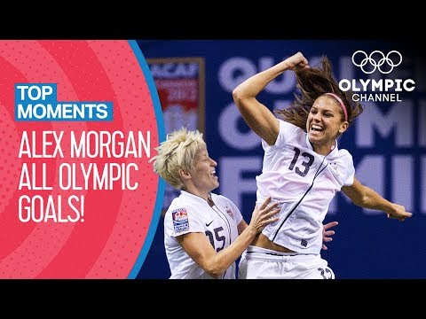 Alex Morgan - ALL Olympic goals! | Top Moments