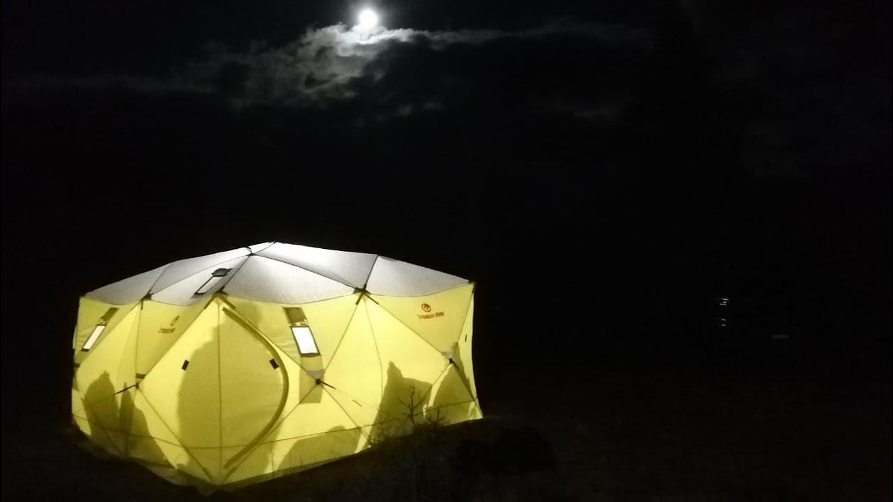 """Обзор палатки """"Четверной куб"""""""
