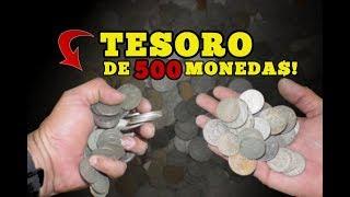 TESORO de 500 MONEDAS en casa ABANDONADA - Cazando La Historia