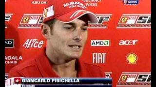 Giancarlo Fisichella debut for Ferrari