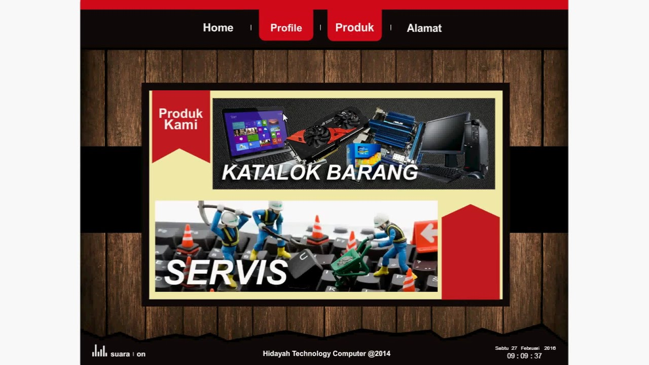 Company Profile Dengan Adobe Flash Cs 6 Youtube