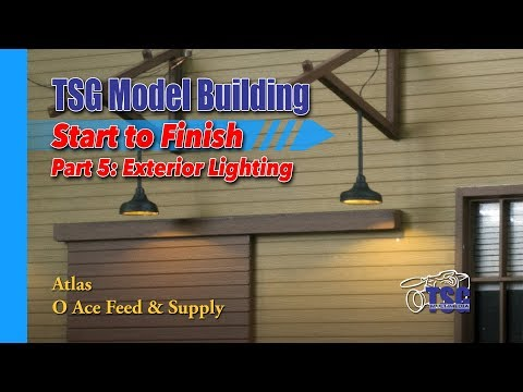O Scale Atlas Feed Store Model Building 5 of 8 MBSTF