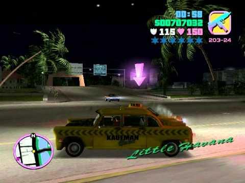 GTA: Vice City: Фирма такси Миссия 34(VIP-персона)
