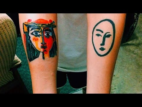 Beautiful Tattoos Inspired by Famous Works of Art