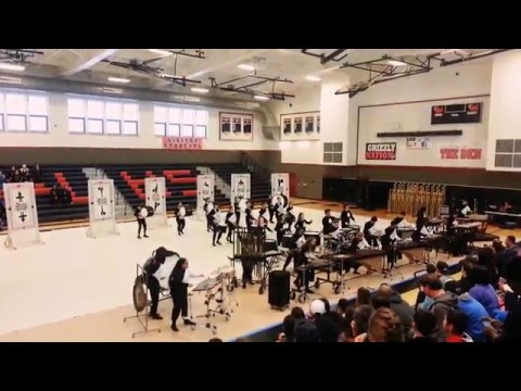 Atwater High School Drumline @ Chapionships 2016