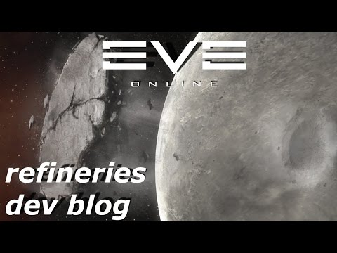 EVE Online - Upwell refineries