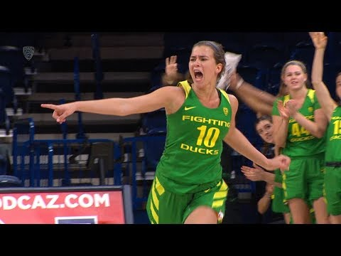 Recap: No. 8 Oregon women's basketball clinches sole possession of Pac-12 title by beating Arizona