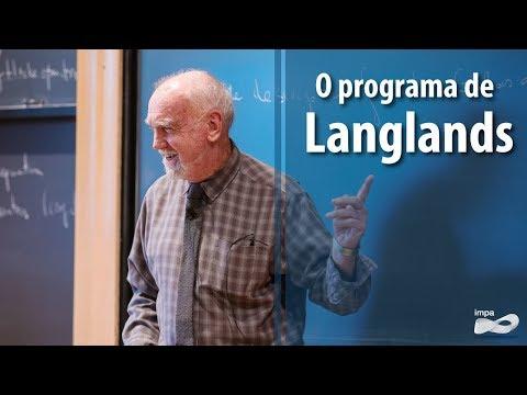 Palestra Especial: O programa de Langlands - Prêmio Abel (2018)