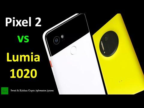 Nokia Lumia 1020 vs Google Pixel 2 Camera & Video Comparison - ICONIC vs BEST