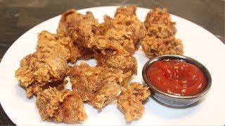 HOW TO MAKE CRISPY FRIED CHICKEN BITES / Easy Crispy Fried Chicken Recipe by (Cook with Madeeha)