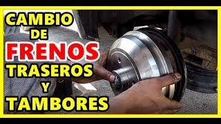 Video CAMBIO DE FRENOS TRASEROS DE CHEVY Y TAMBORES download MP3, 3GP, MP4, WEBM, AVI, FLV Oktober 2018