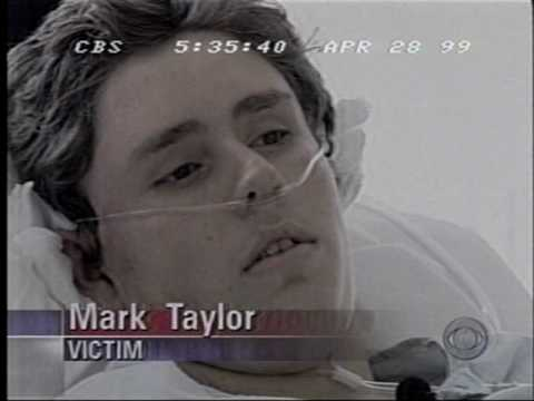 wounded columbine student mark taylor youtube