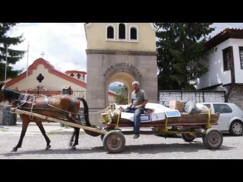 Peshtera, gateway to the western Rodopi Mountains, Bulgaria.