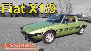 Fiat X1/9 - najdziwniejszy Fiat w historii - MotoBieda