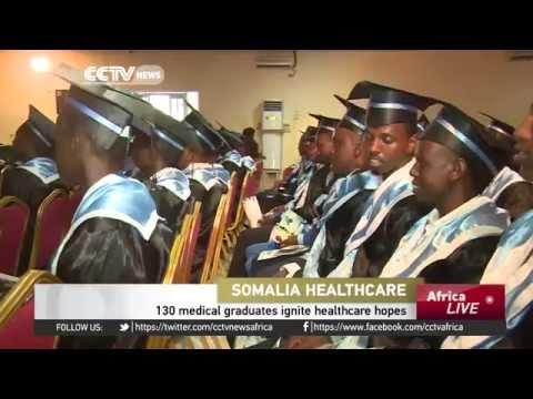 130 medical graduates ignite healthcare hopes in Somalia by Xogdoonmedia.com