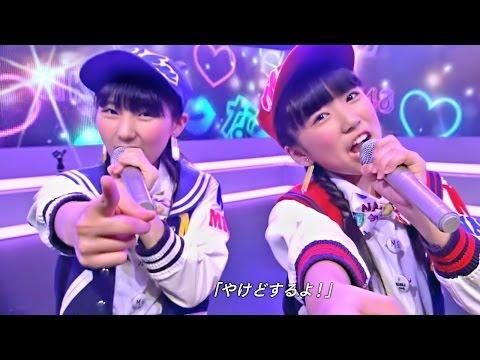 "【Full HD 60fps】 生意気リップス HKT48 矢吹奈子&田中美久 ""なこみく"" (2014.06.21)"