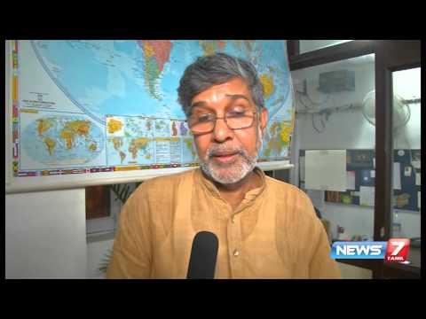 Kailash Satyarthi Interview By Reporter Nisha