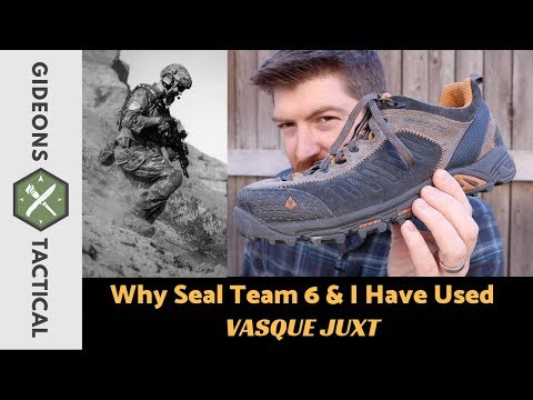 Why Navy Seals & I Wear Vasque Juxt Shoes?