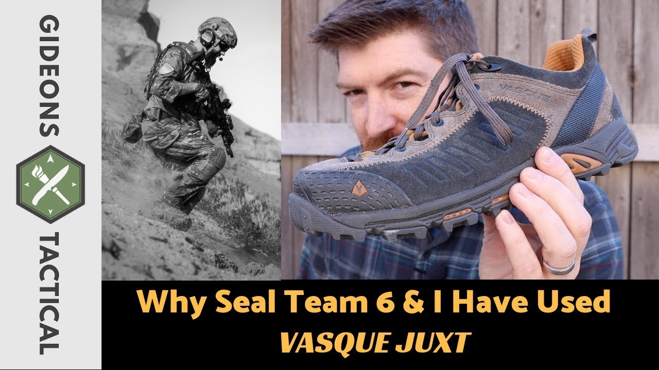 Why Seal Team 6 & I Have Used Vasque Juxt Shoes?