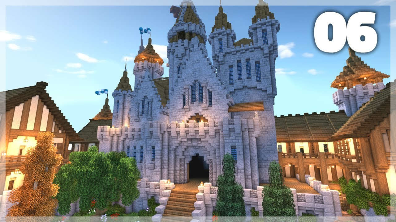 Minecraft  How To Build A Medieval Castle