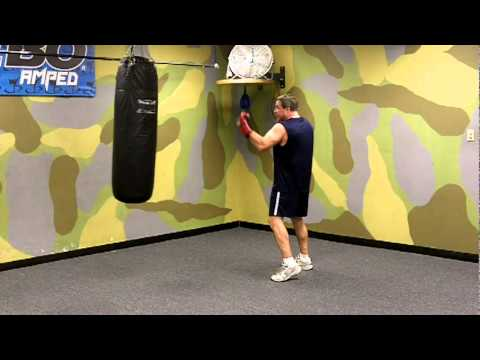 Milstead Boxing and Fitness -  Jab, straight right, left uppercut, straight right combination