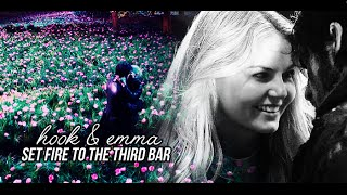 Hook & Emma -  I'm miles from where you are ♥ [Set The Fire To The Third Bar]