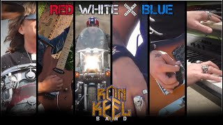 Ron Keel Band  RED WHITE   BLUE