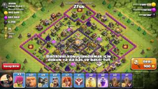 Clash of Clans 1.000.000 milyon ganimet