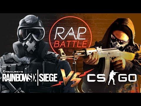 Рэп Баттл - Rainbow Six: Siege vs. Counter-Strike: Global Offensive (Реванш) thumbnail