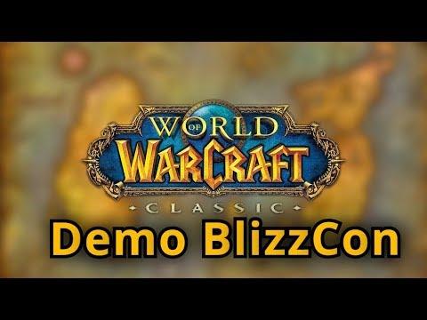 ОБЗОР НОВОГО World of Warcraft: Classic ● Demo BlizzCon