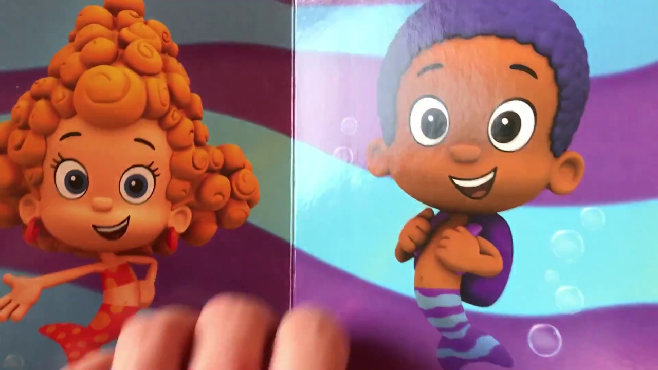 BUBBLE GUPPIES - DEEMA and GOBY - Book - Read Aloud - YouTube