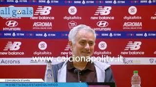 Roma-Napoli 0-0 24/10/21 conferenza stampa José Mourinho