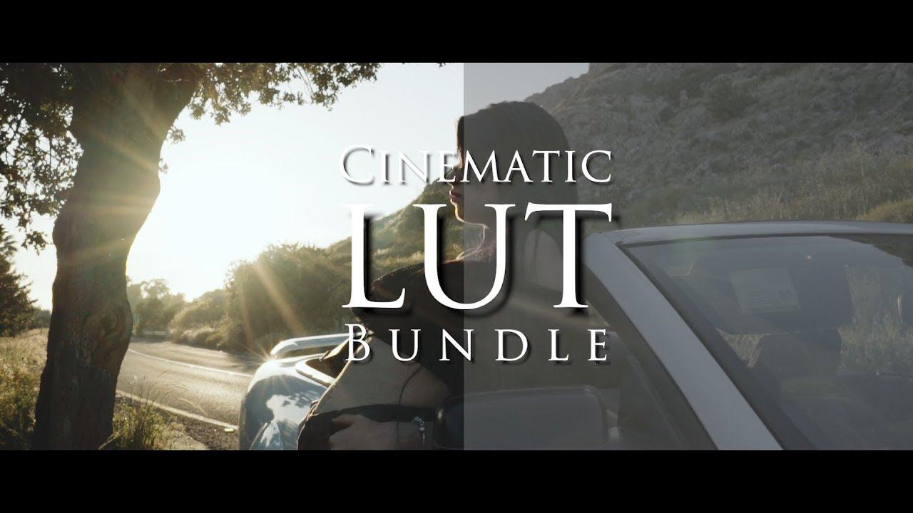 S-Log Cinematic Luts Bundle